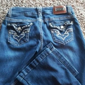Way Jean's size 7